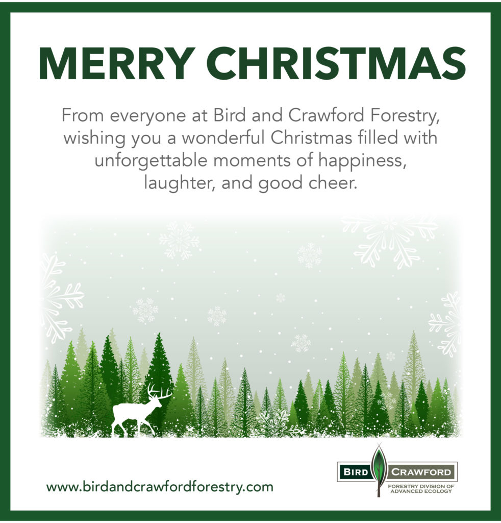 Merry Christmas from Bird & Crawford Forestry